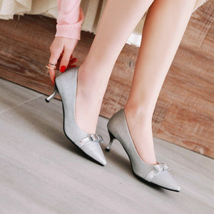 Womens High Heel Shoes Pointed Toe Lady Pumps Party Dress Shoes
