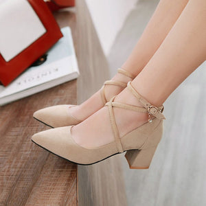Women's Pumps High-heeled Shallow-mouth