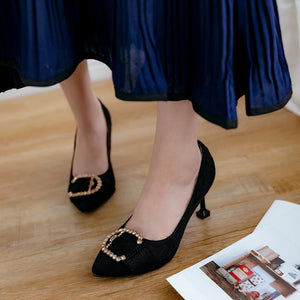 Sexy Rhinestone High Heel Women Pumps