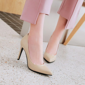 Ultra-high Heel Shallow Mouth Wedding Shoes
