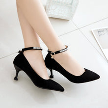 Load image into Gallery viewer, Pointed Toe Rhinestone High Heel Women Pumps