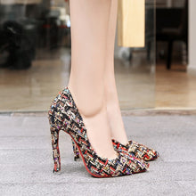 Load image into Gallery viewer, Ultra-high Heel Pointed Toe Pumps