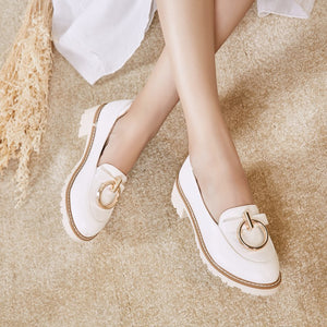 Middle Heel Shallow-mouthed Women Pumps