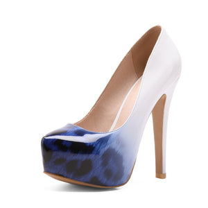 Super High Heel Nightclub Platform Pumps