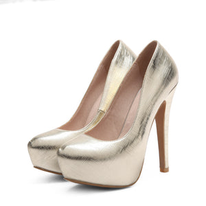 Sexy Super High-heeled Nightclub Platform Pumps