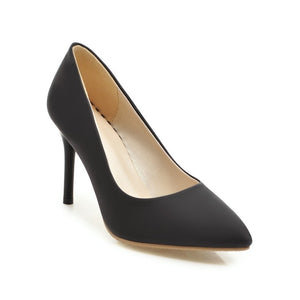 Sexy Pointed Toe High Heel Shallow Mouth Pumps