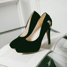 Load image into Gallery viewer, Bridal Shoes Sexy Thin Heel Super High Heel Women Pumps