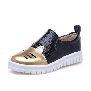 Girls Loafers Flat Shoes