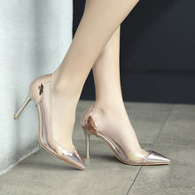 Load image into Gallery viewer, Stiletto Heel Pointed Toe High Heels Women Pumps