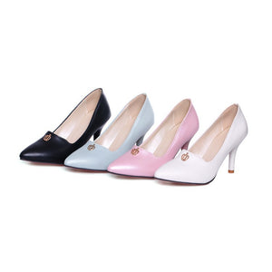 Stiletto Heel High Heel Pointed Toe Women Pumps