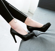 Load image into Gallery viewer, Super High Heel Bride Shoes Women Pumps