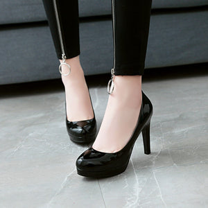Super High Heel Bride Shoes Women Pumps