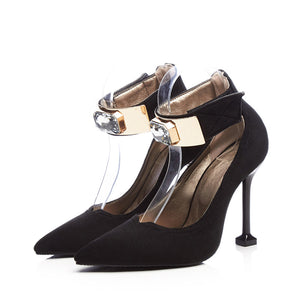 Sexy Super High Heel Super Size Women Pumps