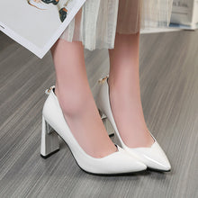 Load image into Gallery viewer, Pointed Toe High Heels Pumps Bride Shoes