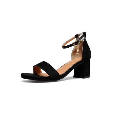 Women's High-heeled Open Toe Chunky Heel Sandals