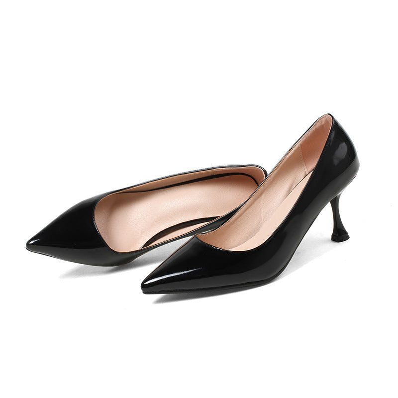 Pointed Toe High-heeled Shoes Women Pumps