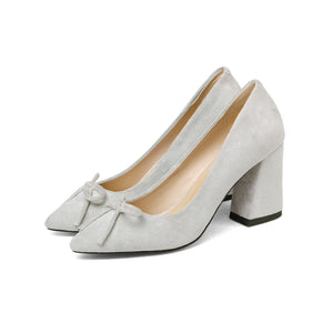 Bride Shoes High Heel Knot Pumps