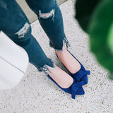 Casual Suede Women Flats Shoes 9445