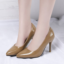 Load image into Gallery viewer, High Heel Shallow Mouth Women Pumps