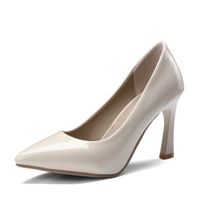 Bride Shoes High Heel Shallow Mouth Women Pumps