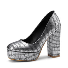 Load image into Gallery viewer, Ultra-high Heel Platform Pumps
