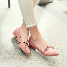 Load image into Gallery viewer, Women's Casual Suede Flat Shoes