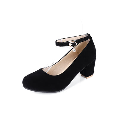 Ankle Strap Women Pumps Shoes Woman 7644