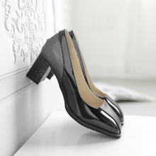 Load image into Gallery viewer, Color Matching High Heel Chunky Pumps