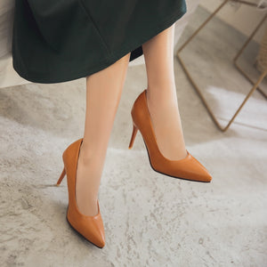 Stiletto Heel Super High Heel Shallow Mouth Pointed Toe Dress Shoes Women Pumps