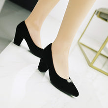 Load image into Gallery viewer, Pointed Toe High Heel Bridal Shoes