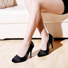 Load image into Gallery viewer, Shallow Head Super High Heel Women Pumps