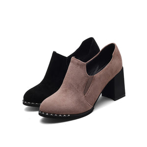 Thick-heeled High-heeled Women Shoes