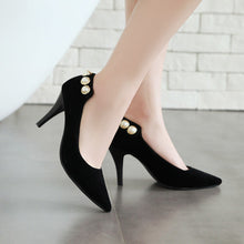 Load image into Gallery viewer, Pointed Toe High Heel Shallow Mouth Women Pumps