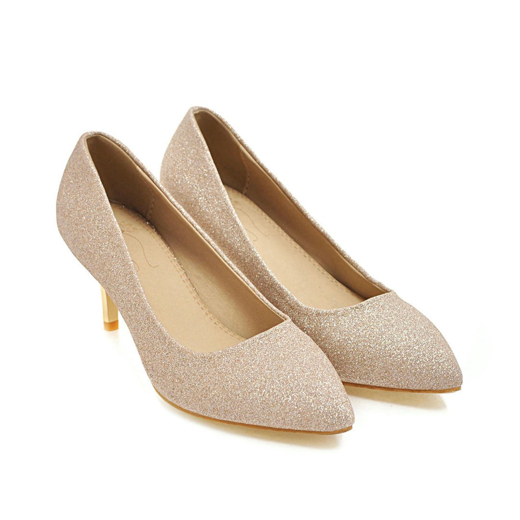Wedding Shoes High Heel Shallow Mouth Women Pumps
