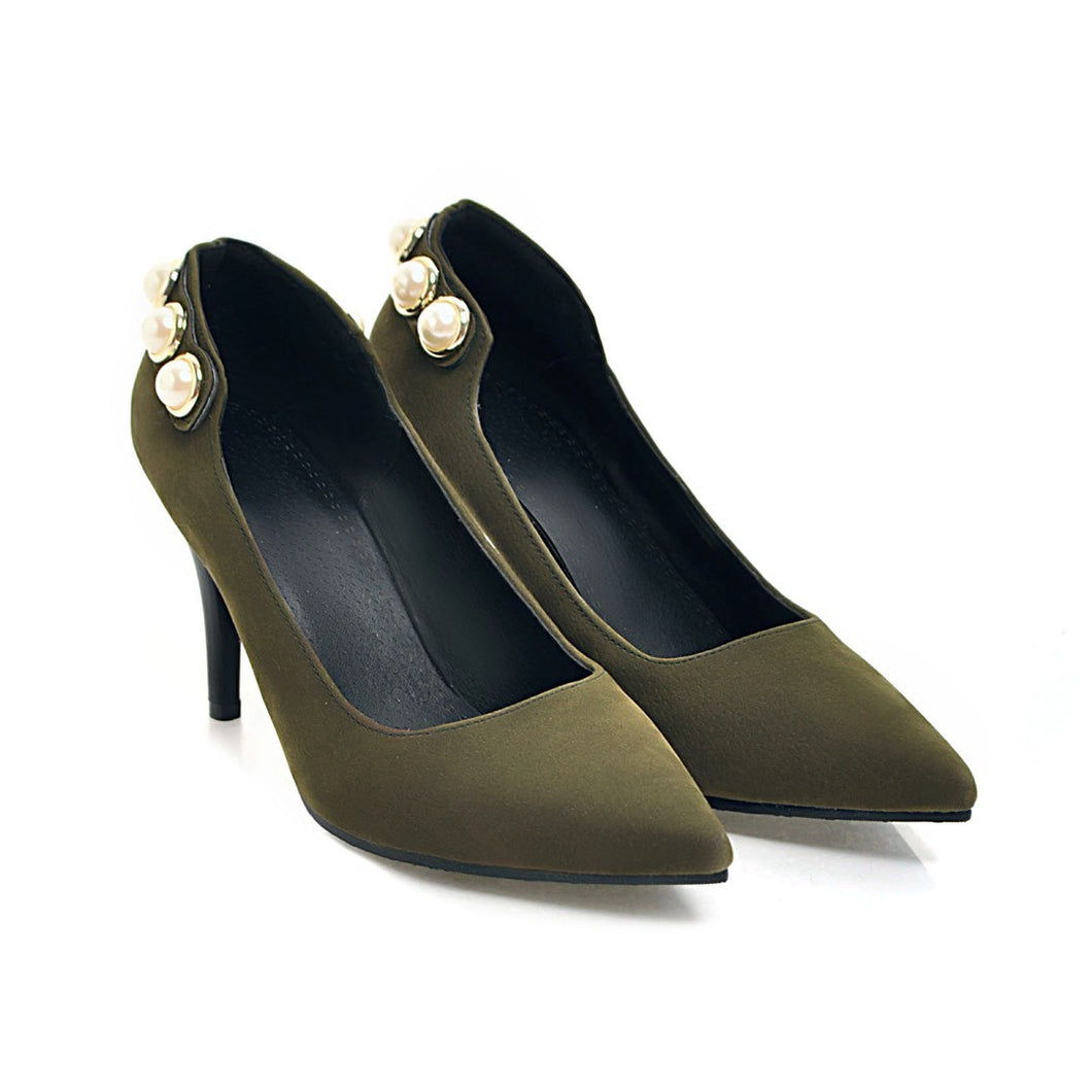 Pointed Toe High Heel Shallow Mouth Women Pumps