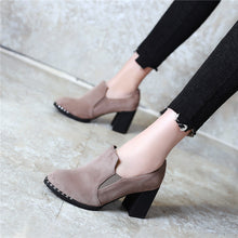 Load image into Gallery viewer, Thick-heeled High-heeled Women Shoes