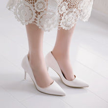 Load image into Gallery viewer, Pointed Toe Stiletto Heels High Heel Women Pumps