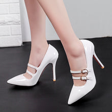 Load image into Gallery viewer, Super High Heel Shallow Mouth Bride Shoe Women Pumps