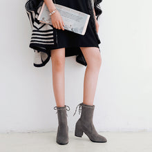Load image into Gallery viewer, Mid-Heel Short Boots Women Shoes for Winter 8312