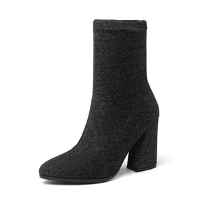 Mid Calf Boots Winter Shoes for Woman 3229