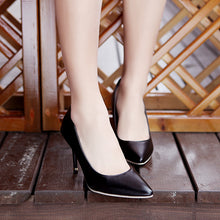 Load image into Gallery viewer, High Heel Pointed Toe Women Pumps