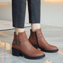 Load image into Gallery viewer, Cool Mid-Heel Short Boots Women Shoes for Winter 2319