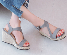 Load image into Gallery viewer, Wedges Sandals Women Platform Shoes