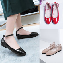 Load image into Gallery viewer, Women Pumps Ankle Straps Flats Shoes