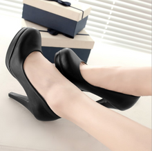 Load image into Gallery viewer, Black, Beige, White Heel Pumps Platform High Heels Women Shoes 9488