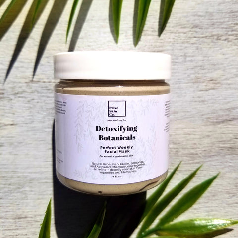 Detoxifying Botanicals Facial Mask 4 oz.