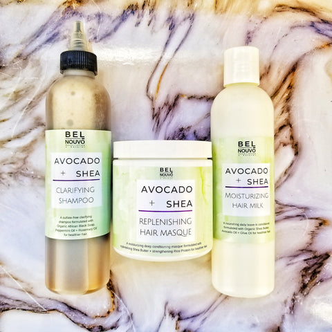 Avocado + Shea Healthy Hair System