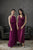Sanders Dress in Cherry
