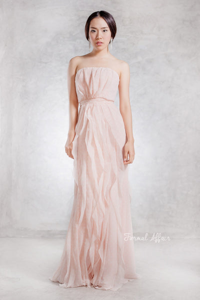 Renee Ruffle Dress - The Formal Affair