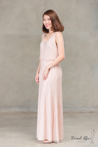 Bena Dress in Blush - The Formal Affair